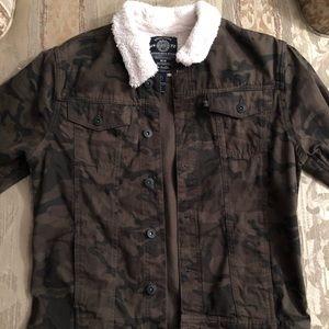 Men's Buffalo David Bitton Camo Jacket Size M